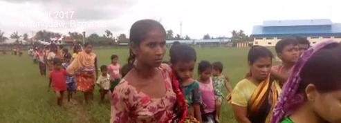 Birmanie : des civils terrifiés fuient les combats
