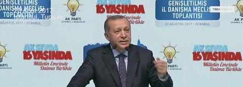 Erdogan appelle à donner une