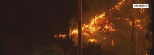 Le Portugal toujours en proie aux flammes