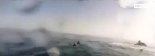 Ces gardes-côtes espagnols interceptent un passeur à jet ski