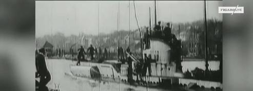 Un sous-marin de la Première guerre mondiale découvert avec les corps de son équipage
