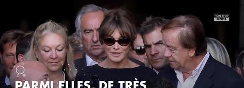 Mireille Darc : Alain Delon, Johnny Hallyday... les stars présentes en nombre à ses obsèques