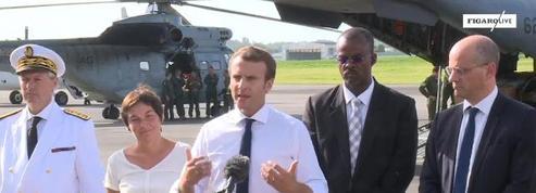 Irma: le gouvernement devra répondre de ses actes selon Macron