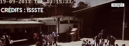 Mexico : des images inédites témoignent de l'intensité du séisme lors de l'évacuation d'une école