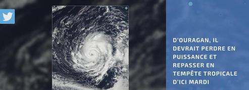 L'ouragan Ophelia s'approche de l'ouest de l'Europe
