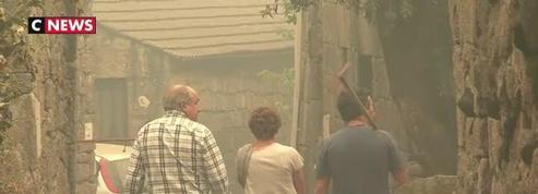 Portugal : un village entier détruit par les flammes