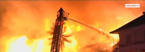 Au moins une victime dans l'incendie spectaculaire d'un hôtel birman