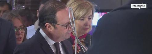 Belgique : Hollande, Michel et Plantu à Molenbeek
