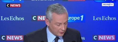 Bruno Le Maire : «GE a pris des engagements vis-à-vis de l'Etat français (...) Ces engagements doivent être tenus»