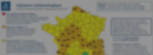 Tempête, neige et pluie : l'alerte orange étendue à 34 départements