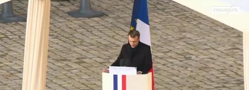 L'éloge funèbre d'Emmanuel Macron à Jean d'Ormesson en intégralité
