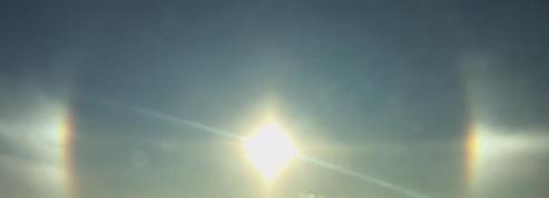 Au Canada, 3 soleils brillent dans le ciel