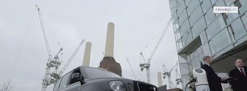 La version électrique du taxi noir débarque à Londres