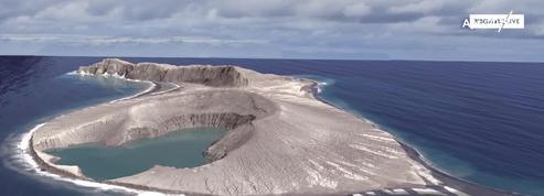 Une île apparue dans le Pacifique il y a trois ans intéresse fortement la Nasa