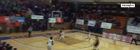 Basket : Un lycéen marque le panier de la victoire depuis son propre camp