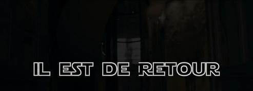 Jean-Marie Le Pen imite Dark Vador pour la promotion de son livre