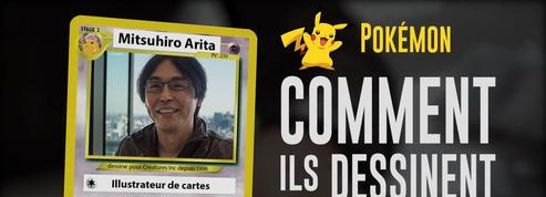 Pokémon : cet homme a dessiné la première carte Dracaufeu (Mitsuhiro Arita)