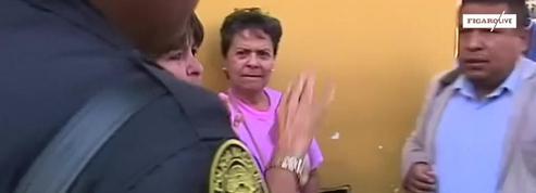 Un membre du congrès péruvien giflé en direct