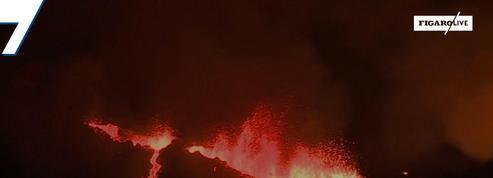 Le Piton de la Fournaise en éruption pour la deuxième fois de l'année