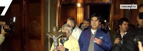Chili : veillée aux chandelles pour les enfants victimes d'abus sexuels
