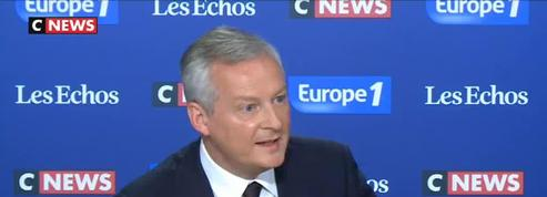 Le Maire : l'Italie «menace» la zone euro si elle trahit ses engagements sur la dette et le déficit