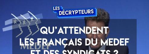 Nouveau président du Medef : ce qui a marqué nos décrypteurs
