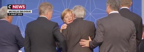 Jean-Claude Juncker est pris en train de tituber