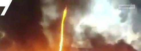 Une spectaculaire tornade de feu observée en Angleterre