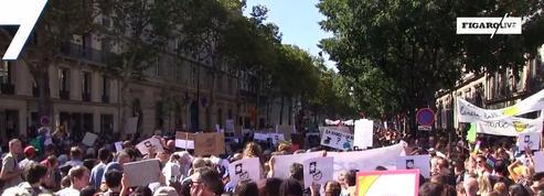 Marche pour le climat : 50 000 Français dans la rue pour l'environnement