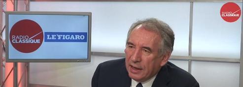 Bayrou sur Macron : «Il est du devoir des gens responsables de dire quand on va dans la mauvaise direction»