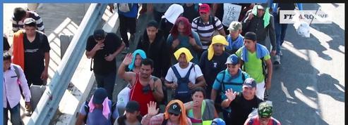 Plus de 4000 migrants arrivés à Tijuana à la frontière américaine