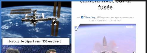 Un mois après l'explosion, Soyouz repart vers l'ISS