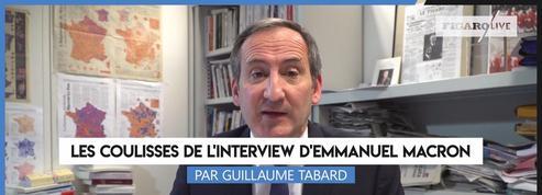 Les coulisses de l'interview d'Emmanuel Macron, par Guillaume Tabard