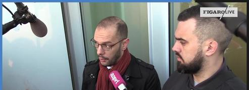«Gilets jaunes» : Éric Drouet arrive au tribunal