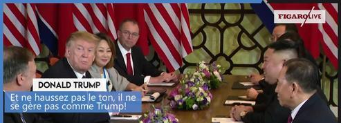 «Si je ne souhaitais pas [la dénucléarisation], je ne serais pas là», assure Kim Jong-un