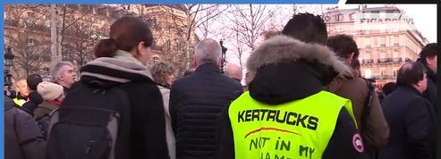Des «gilets jaunes» présents au rassemblement parisien contre l'antisémitisme
