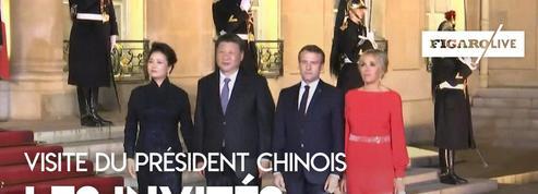 Visite de Xi Jinping : les invités au dîner d'État