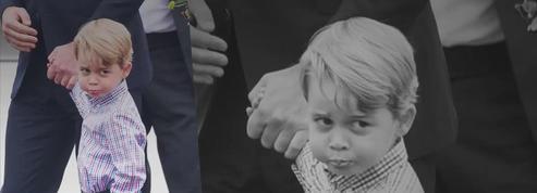 À 4 ans, George n'est plus un bébé
