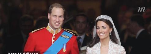 Les plus belles robes de mariages royaux