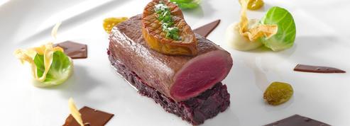 Dos de chevreuil d'Écosse et foie gras poêlé