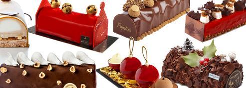 Bûches de Noël : les grands classiques des pâtissiers