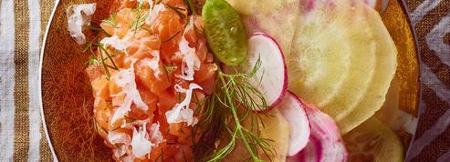 Tartare de saumon au raifort