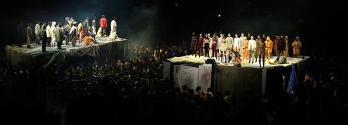 Un show monumental de Kanye West ouvre la Fashion Week de New York