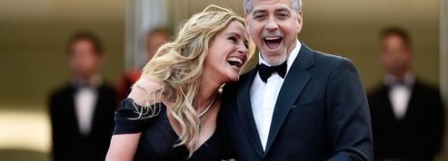 Julia Roberts et George Clooney enfièvrent les marches de Cannes
