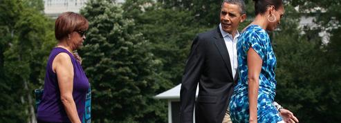 Barack Obama : sa belle-mère, son pot de colle