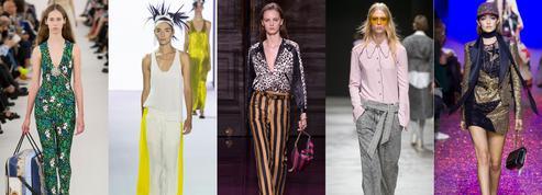 Fashion Week, les designers livrent des vestiaires aussi variés que désirables