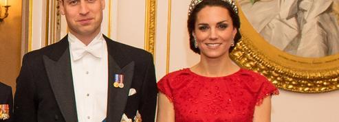 Kate Middleton, royale avec la tiare de Lady Diana