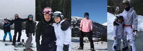 Les Beckham au ski : photos de famille et accident de snowboard