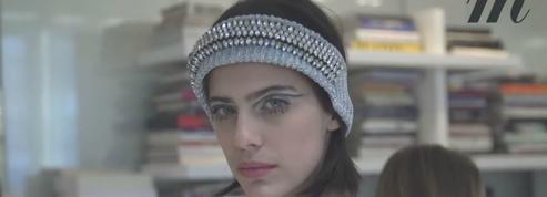 Karl Lagerfeld donne ses impressions la veille du défilé Chanel
