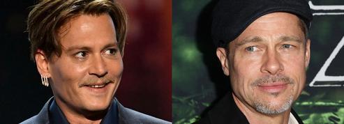 Brad Pitt VS Johnny Depp : le match des sex-symbols divorcés